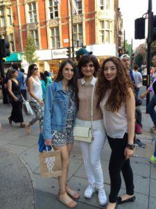 mum, me and Anna