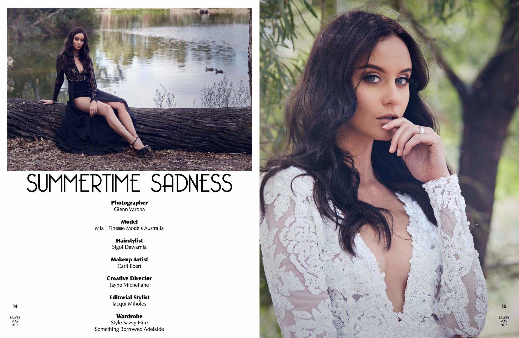 Summertime Sadness Editorial